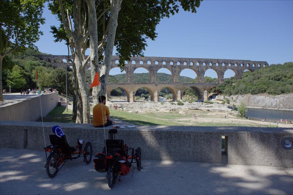 Cliquez pour aggrandir - Pont du Gard